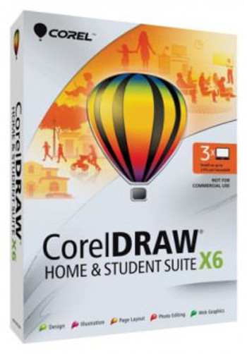 CorelDraw Home & Student Suite 6