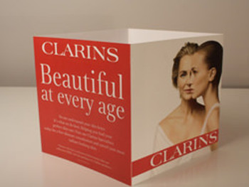 Clarins-Tent-Cards-(Print-Marketing)