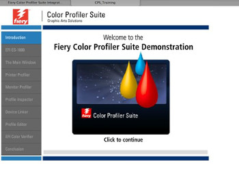 Fiery Color Profiler