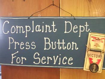 top complaints