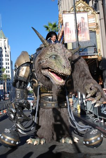STRATASYS 3D Prints Giant Creature For Comic-Con 2014