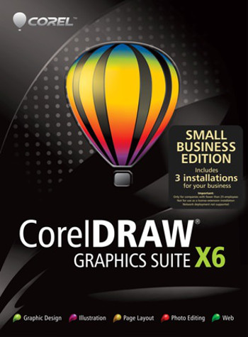 CorelDRAW Graphics Suite X6 SBE