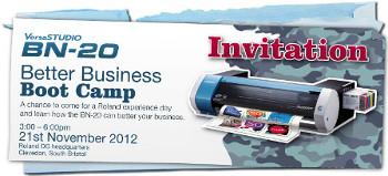 BN-20 Boot Camp Invitation