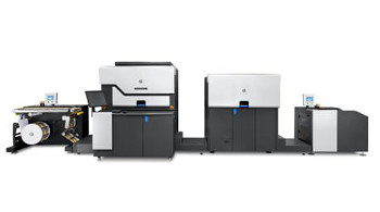 HP showcase the HP Indigo WS6600 Digital Press at Labelexpo Americas 2012