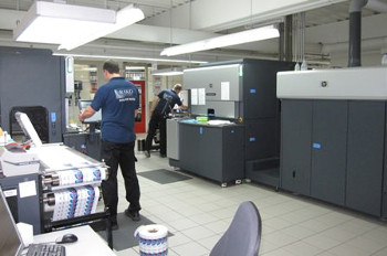 RAKO Etiketten purchased five new HP Indigo WS6600 Digital Presses