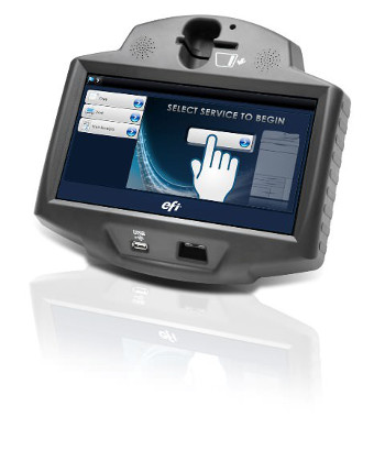 EFI Self-Serve M500 integrates with CBORD