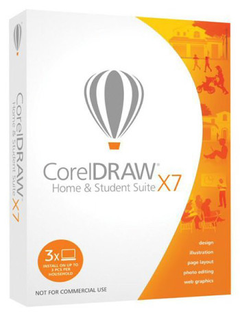 New CorelDRAW® Home & Student Suite X7