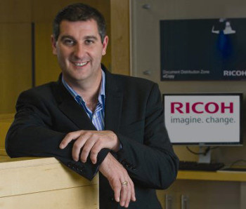 Chas Moloney director Ricoh UK & Ireland