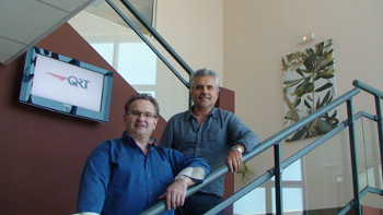 Christophe Quirantes (left) and Philippe Quirantes manages the family-run business