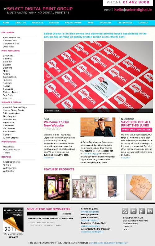 Select-Digital-Printing-new-website---Dublin