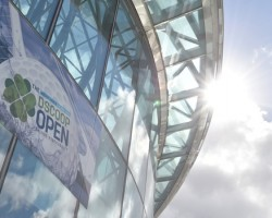 The Convention Centre Dublin which hosted the Dscoop Open event. Image courtesy of Tweak Dscoop Daily