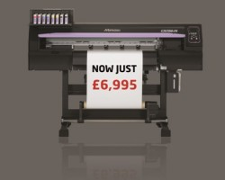 The Mimaki CJV150-75 is offered at just £6,995+VAT for a limited period
