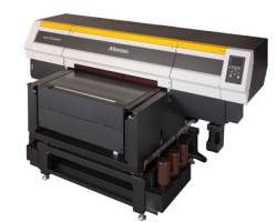 The new Mimaki UJF-7151plus flatbed direct-to-object printer