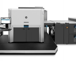 The HP Indigo 12000 Digital Press, part of the new HP Indigo portfolio