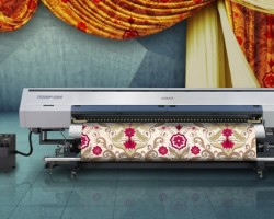 Mimaki's new 3.2m TS500P-3200 transfer paper targets the home furnishings market with its combination of high speed and dye sublimation output