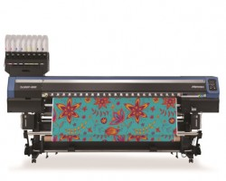 The Mimaki TX300P-1800 textile printer is one of a number to feature on Mimaki's ITMA stand this month