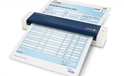 Xerox Duplex Travel Scanner with paper