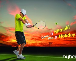 Celebrate a Summer of Sport with Hybrid by entering their free competition at Sign & Digital UK