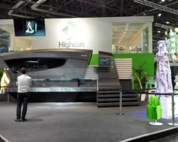 The Highcon Shape at Highcon's drupa 2016 stand
