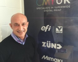 Paul Warwick, new business development manager for consumables at CMYUK