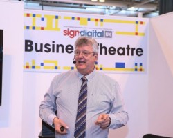 Sign & Digital Business Theatre presentation