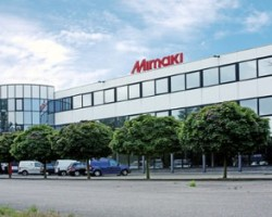 Mimaki Europe's headquarters in the Netherlands