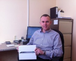 Donal Ahern winner of the IPAD