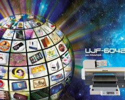Mimaki is to show its UJF-6042 printer at PSI in Dusseldorf