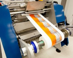 Domino's N600i digital label printer in production at Reynders