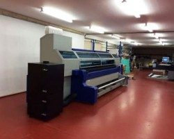 The MTEX 5032 textile printer at Cover Up