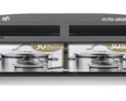 The VUTEk GS3250LX is one of the printers used to determine energy savings in Fogra's testing