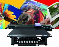 The JFX200 LED UV printer will be one of Mimaki's promotional printing solutions on display at PSI 2015