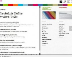 The Antalis Online Product Guide