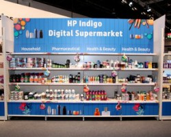 HP's 'Digitally printed Supermarket' themed stand will demonstrate a broad range of high value, cost effective digitally printed flexible packaging, folding carton, shrink sleeve and label applications