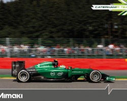 Mimaki joins Caterham F1 Team as technical partner