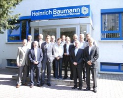 Representatives from Highcon and new channel partner Baumann at a recent training session.
